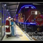 CPR Holiday Train Saint Paul Union Depot Santa