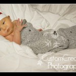 saint paul, newborn photos, in home session, christmas baby