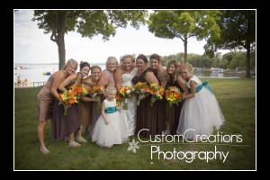 Walker, MN, Wedding, Horseshoe Bay Resort Wedding, Bride, Groom